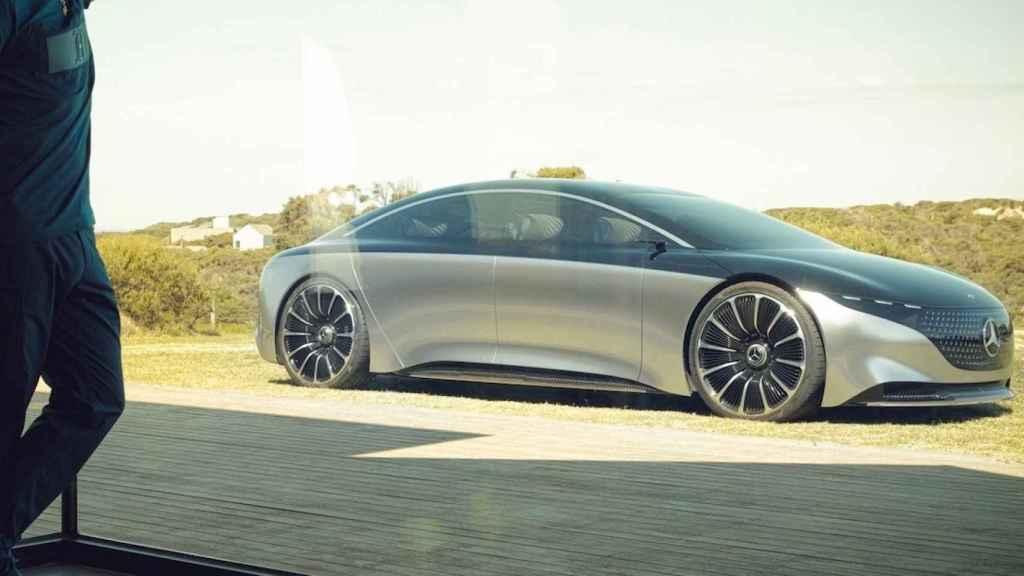 Este Mercedes podría ser un rival del Tesla Model S.