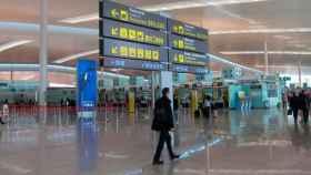 Aeropuerto de El Prat, en una imagen de archivo.
