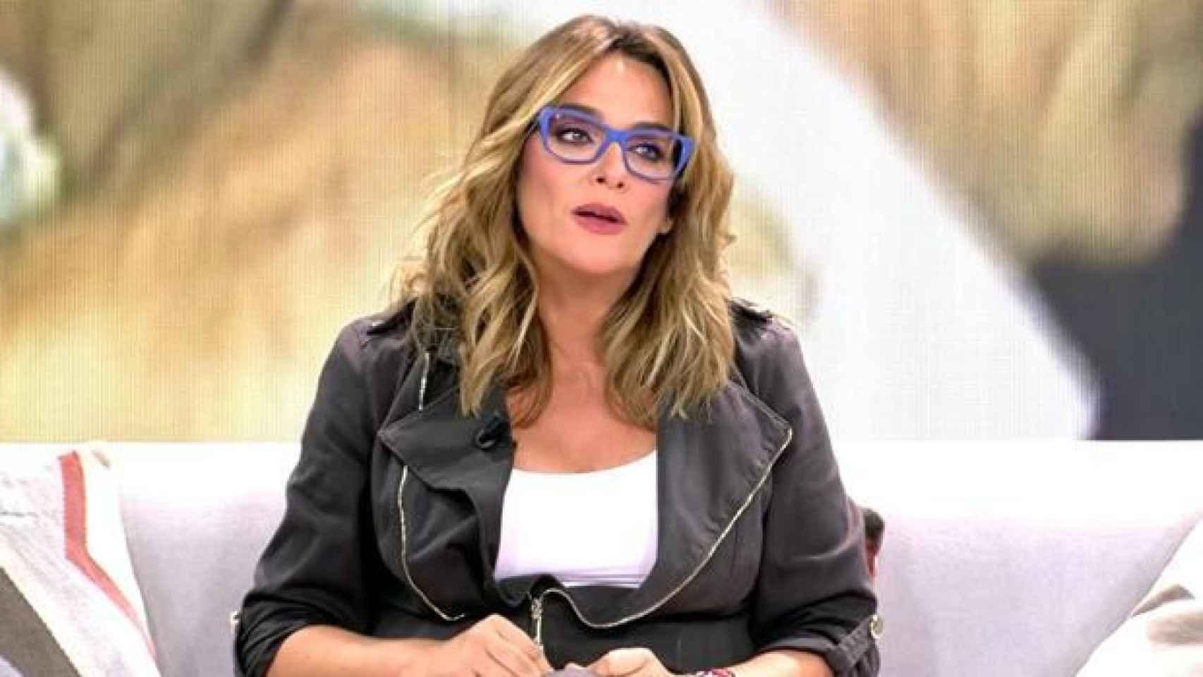 Toñi Moreno lanza un 'zasca' a Mediaset.