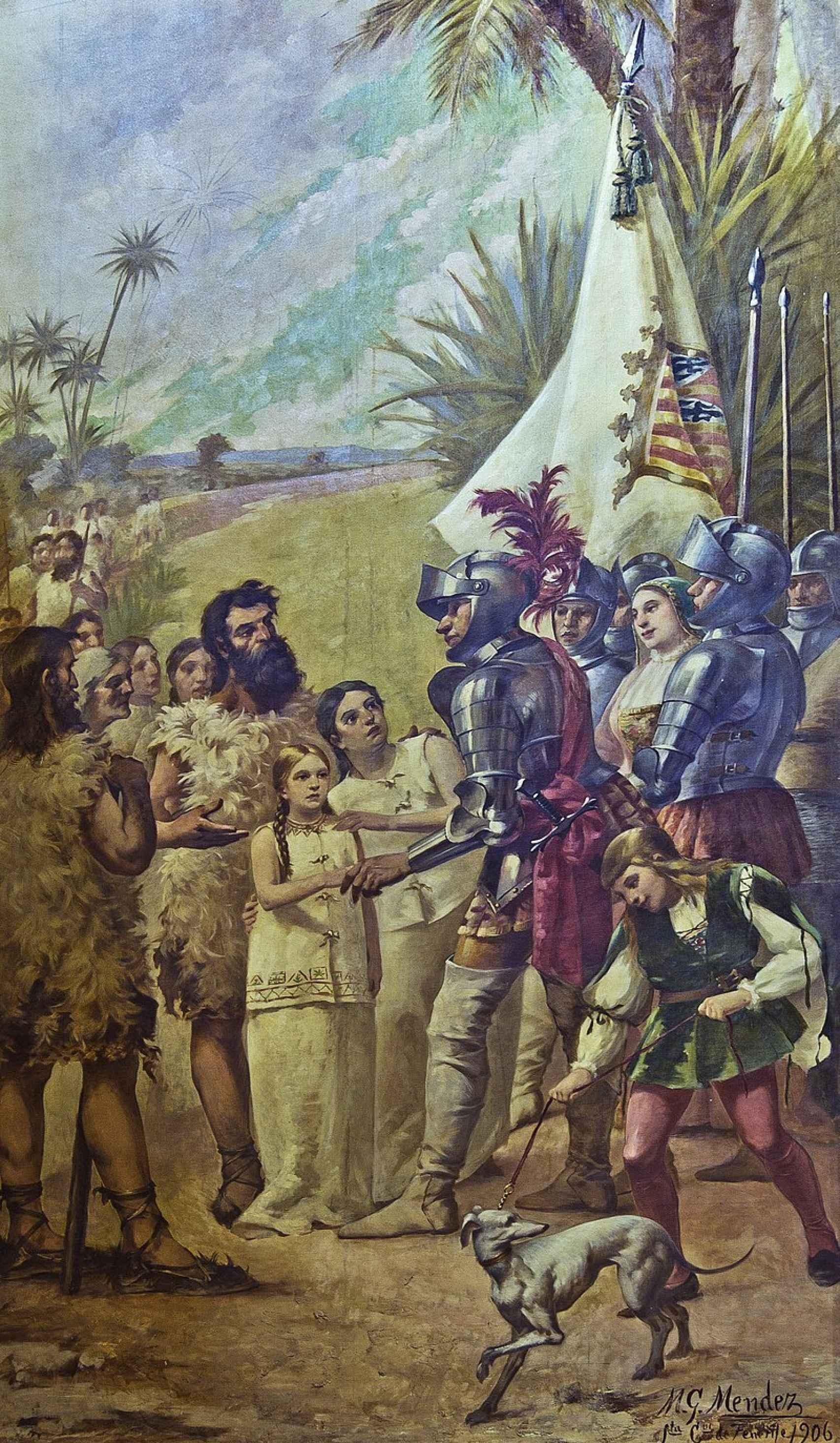 La conquista de las Islas Canarias.