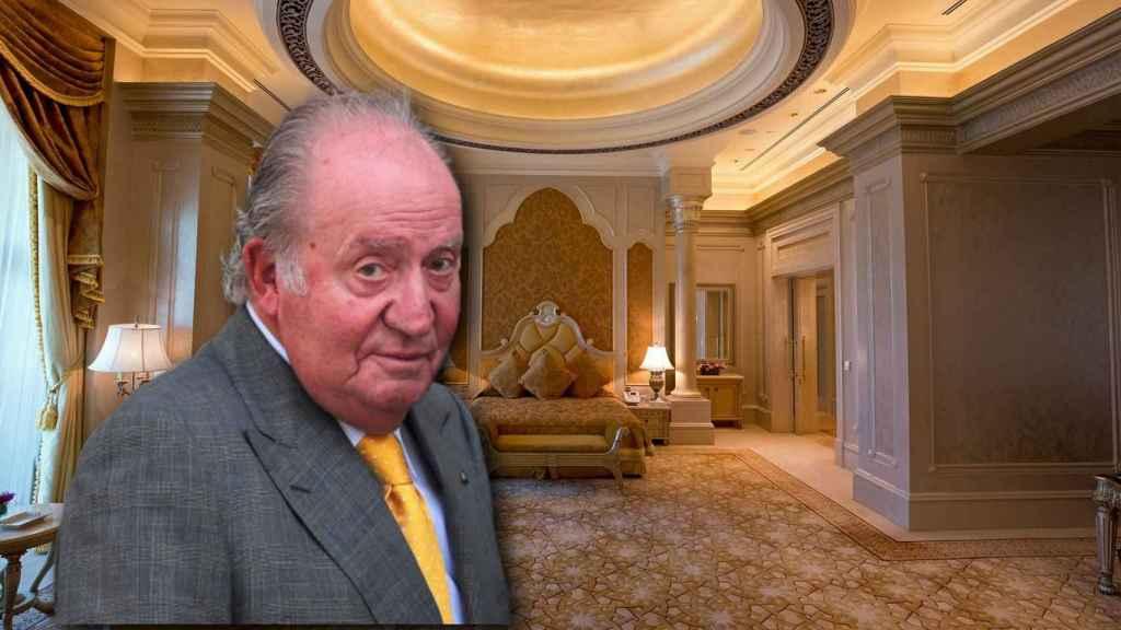 El rey Juan Carlos en montaje de JALEOS.