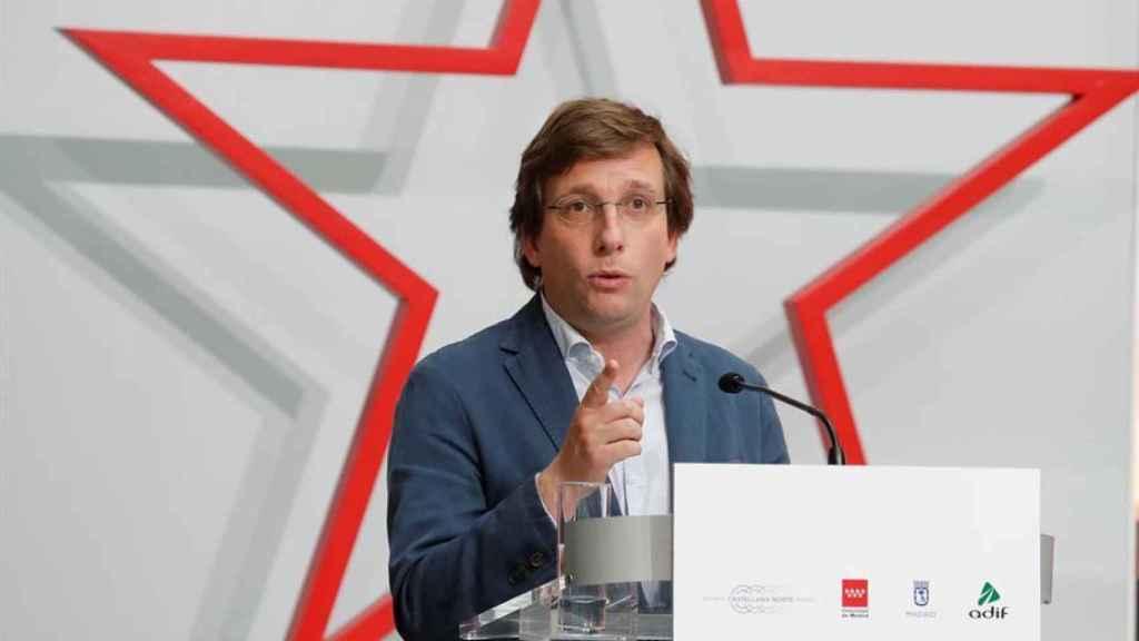 El alcalde de Madrid y portavoz nacional del PP, José Luis Martínez Almeida.