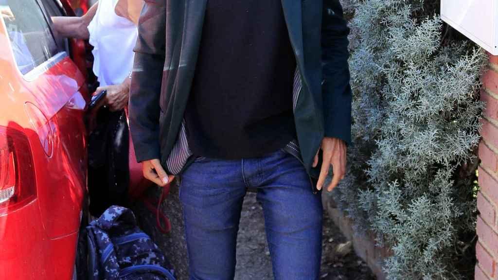 Camilo Blanes vive en la casa que su padre tenía en Torrelodones.