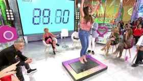 Anabel Pantoja en su sección de perder peso en 'Sálvame'