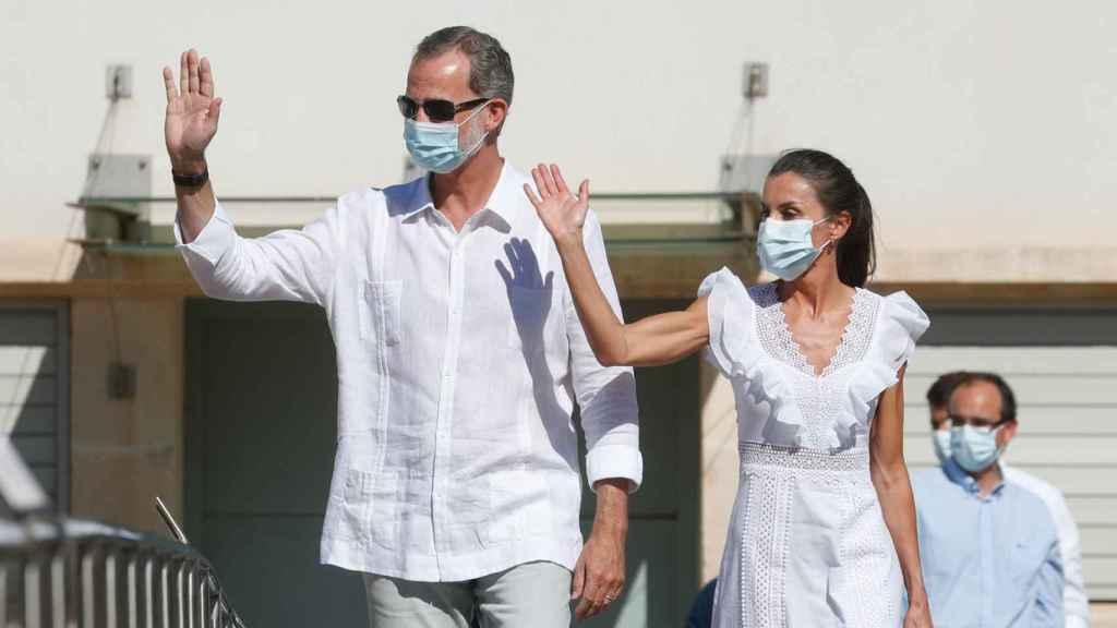Felipe VI y Letizia, en Ibiza.