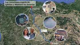 Pablo Iglesias e Irene Montero han pasado unos días de vacaciones en Asturias.