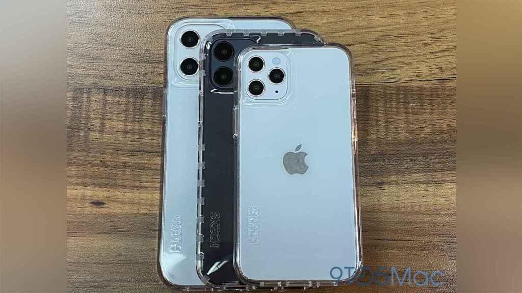 Maquetas de los iPhone 12