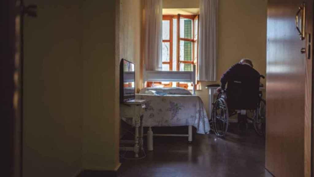 Una de las residencias en las que estuvo MSF.