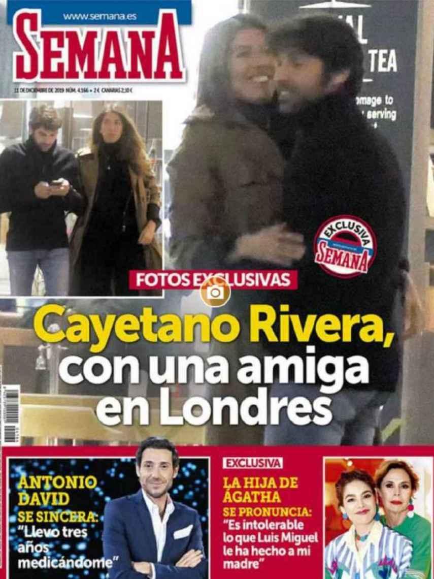 La portada de Karelys y Cayetano que generó el gran escándalo.