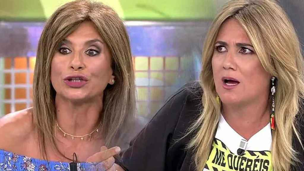 Carlota Corredera y Gema López.