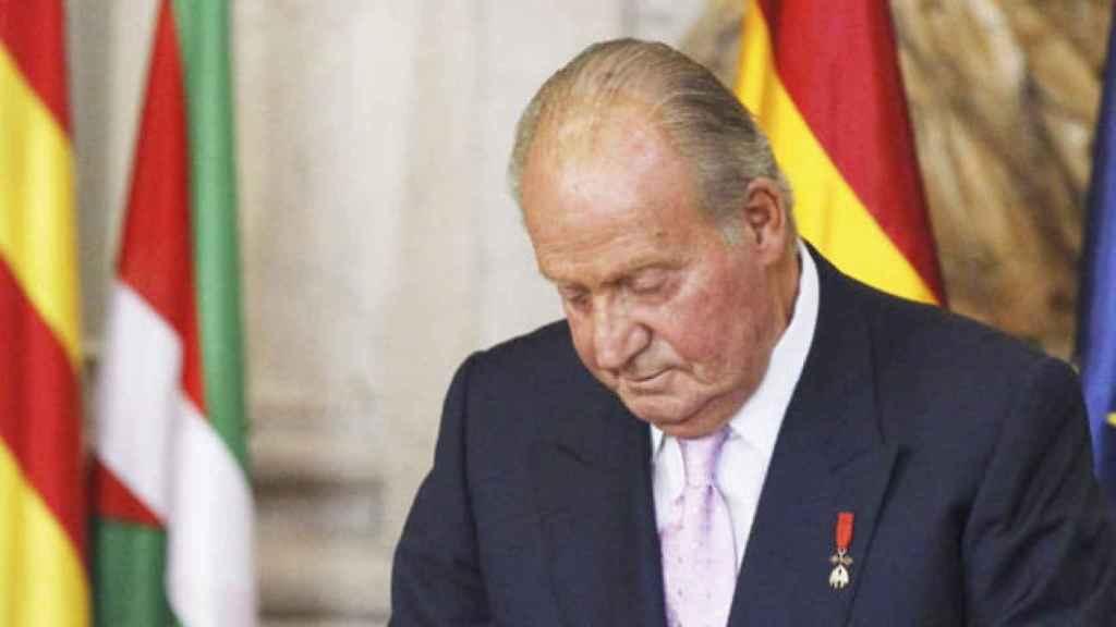 El rey Juan Carlos I, en una imagen de archivo.