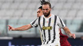 Higuaín, con la Juventus