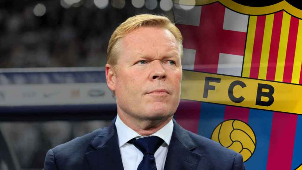 Ronald Koeman, nuevo entrenador del Barcelona