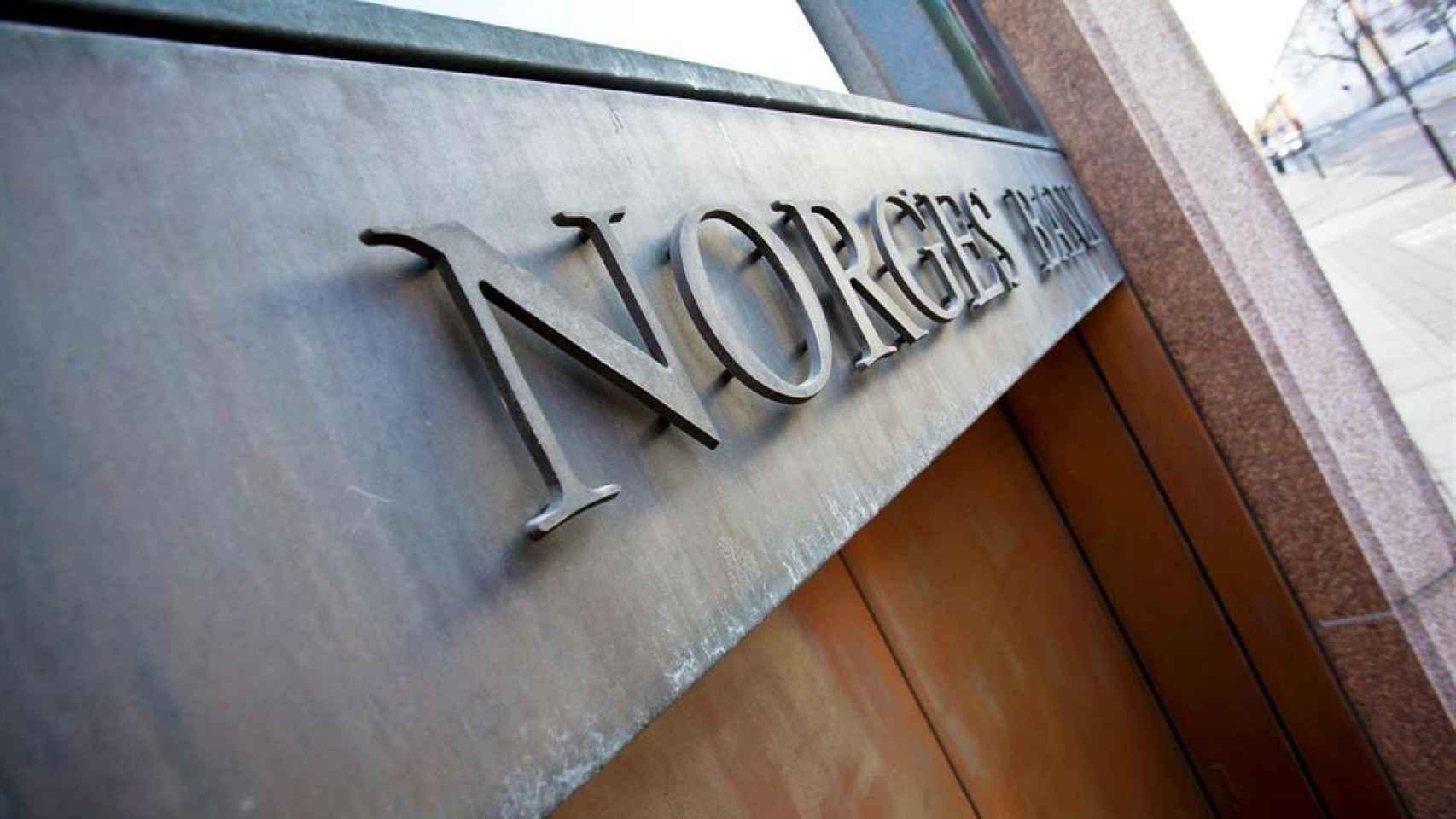 La sede del Fondo Soberano noruego.