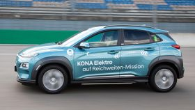 Hyundai recorre 1.000 kilómetros con un coche eléctrico sin necesidad de recargarlo