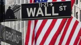 Indicador de Wall Street, donde se ubica la Bolsa de Nueva York.