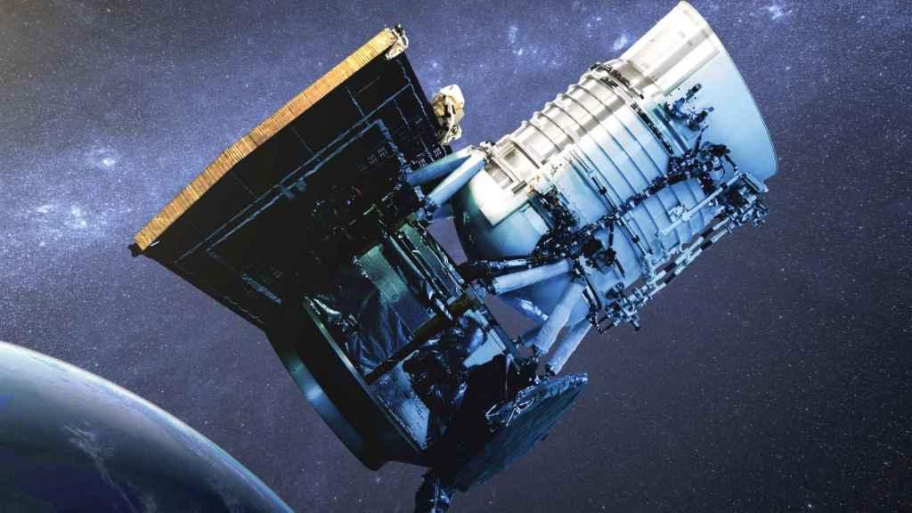Recreación del telescopio espacial WISE