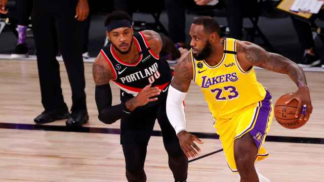 Carmelo Anthony y LeBron James