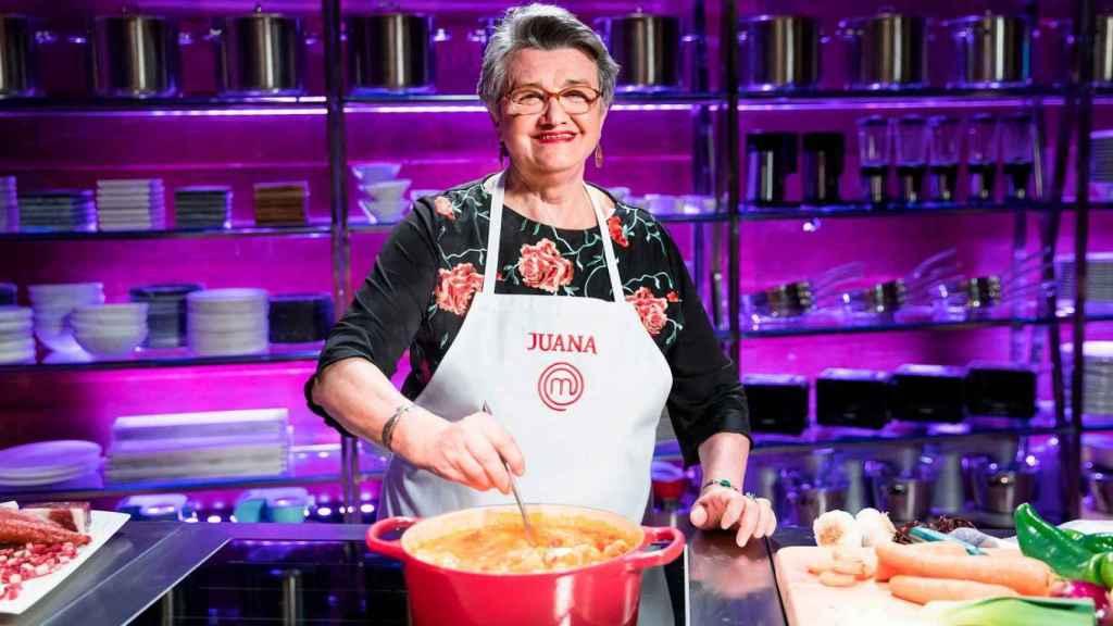 Juana Ferrer se quedó a las puertas de la final de 'Masterchef 8'.