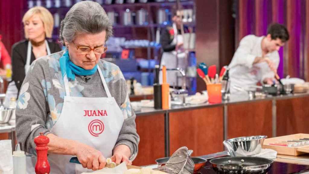 Juana es una de las concursantes más queridas de 'Masterchef 8'.