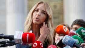 Cayetana Álvarez de Toledo, exportavoz del PP en el Congreso de los Diputados.