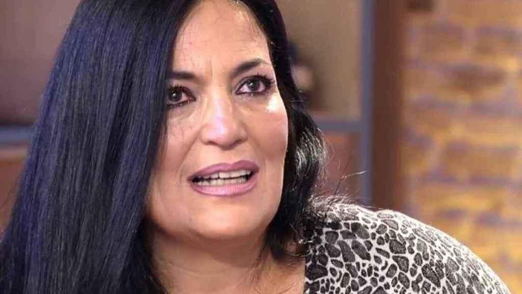Lely, en una de sus últimas intervenciones en Telecinco.