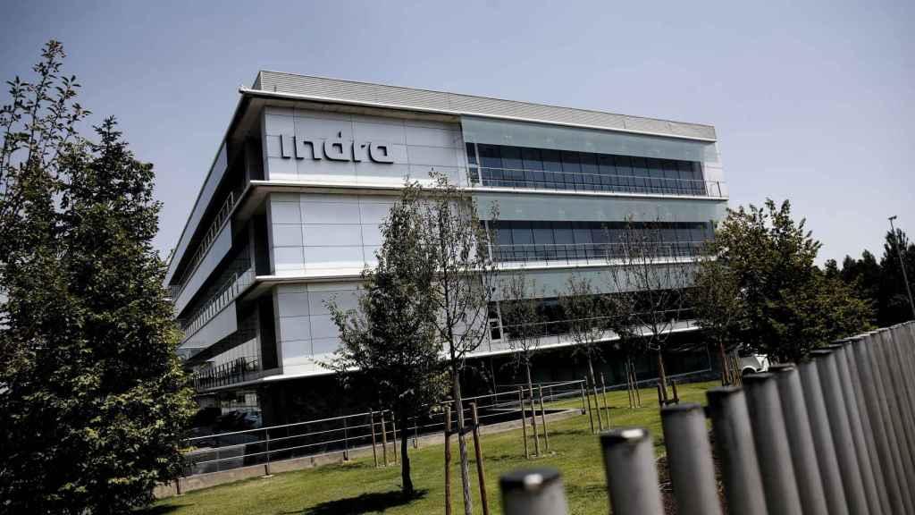 Sede de la compañía de tecnología y consultoría Indra en Alcobendas (Madrid).
