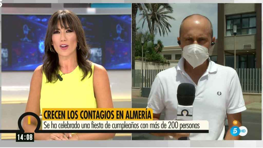 Patricia Pardo sustituye a Marc Calderó este jueves en 'Ya es mediodía'.