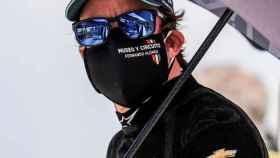 Fernando Alonso durante la Indy 500