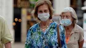 La reina Sofía reaparece por las calles de Mallorca tras la marcha de Felipe y Letizia