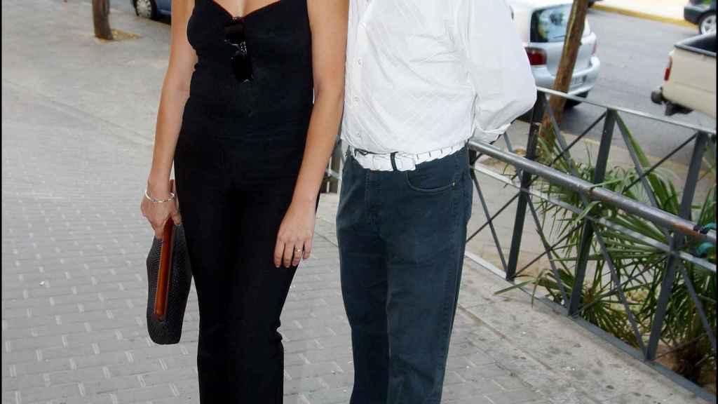 Lely Céspedes y Ernesto Neyra, en una imagen del año 2005.