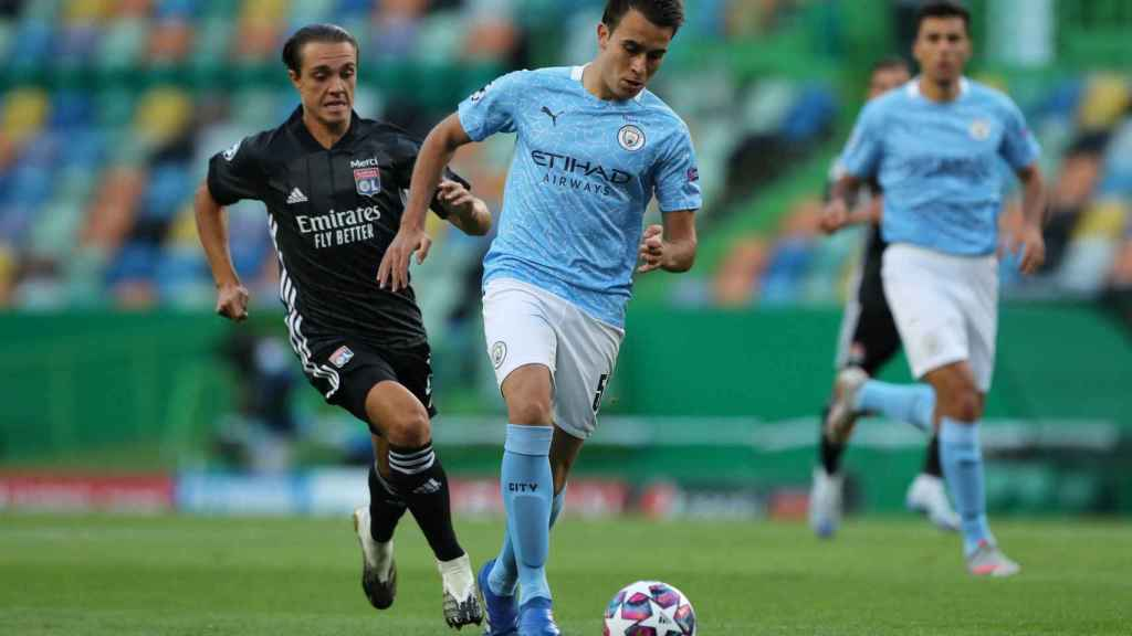 Eric García, con el Manchester City, es uno de los objetivos de mercado