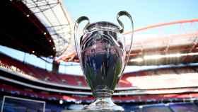 El trofeo de la Champions League, presente en las finales de Lisboa 2020