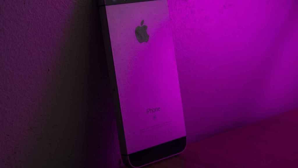iPhone SE de primera generación.