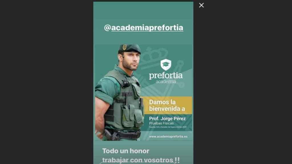 Imagen que Jorge Pérez ha subido a sus redes sociales.