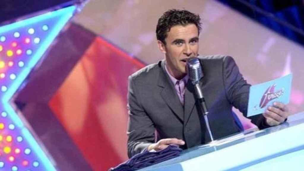 Alonso Caparrós presentando 'Furor'.