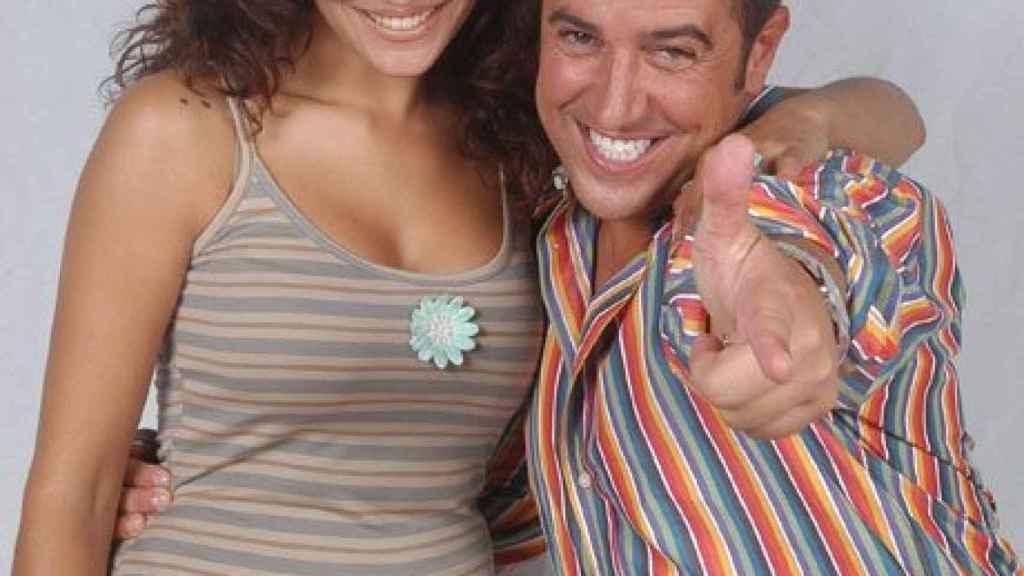 Víctor Sandoval y Patricia Pérez, presentadores de 'Mama Mía'.