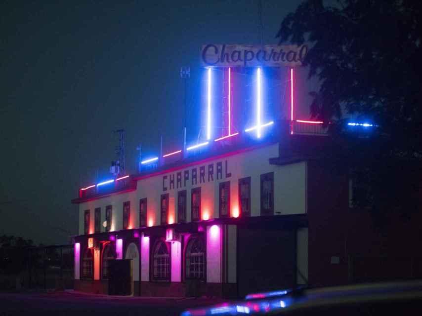 El Chaparral, un club de alterne junto a la A-4.