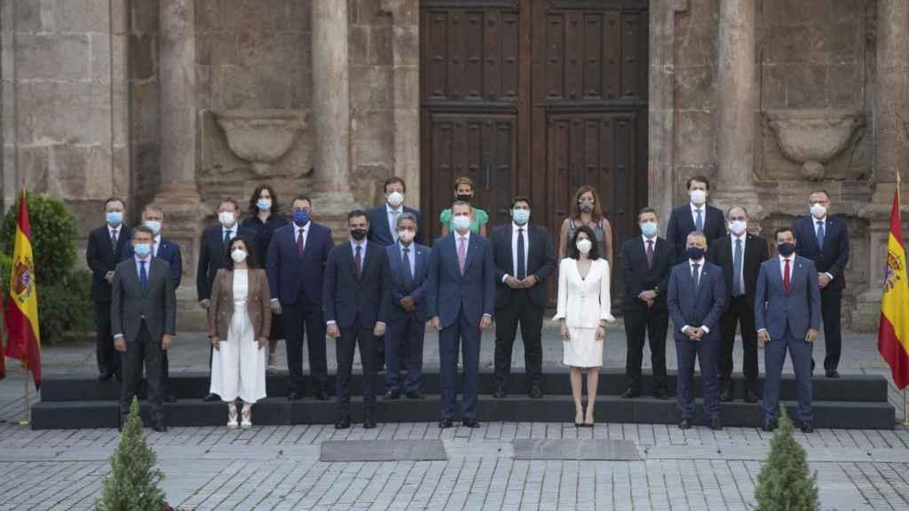 La conferencia de presidentes de San Millán de la Cogolla.