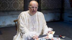Rappel, durante la presentación de la obra de teatro 'El secuestro del adivino'.