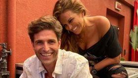 Efrén Reyero y Marta López.