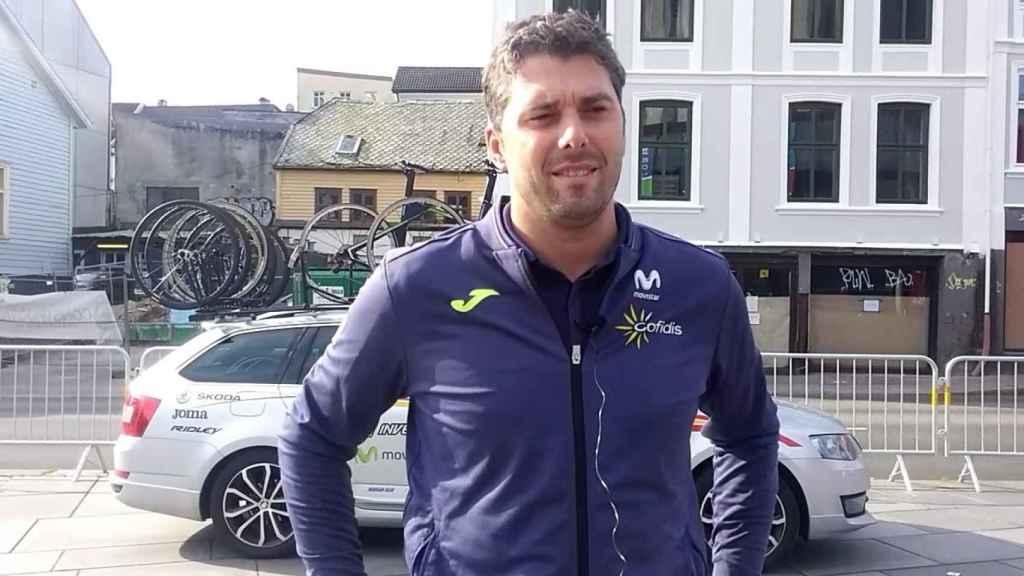 Pascual Momparler, seleccionador nacional de ciclismo