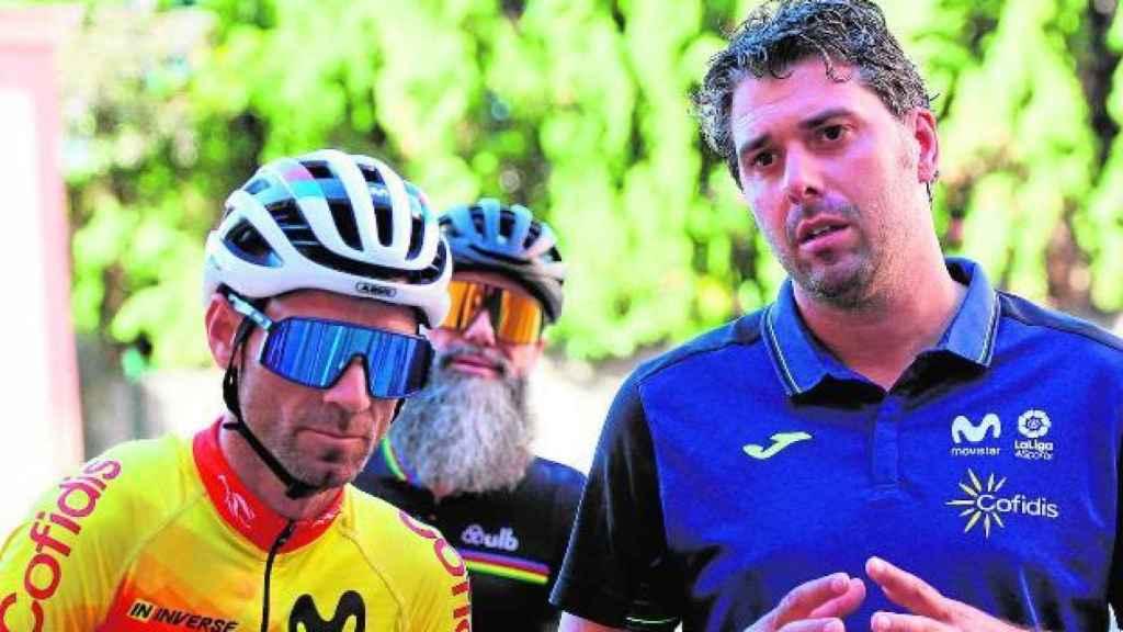 Alejandro Valverde y Pascual Momparler