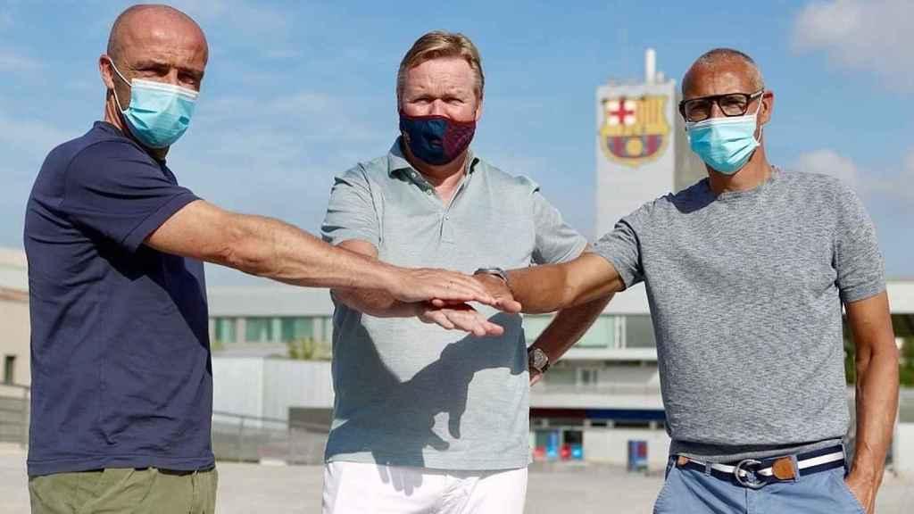 Koeman, Larsson y Schreuder