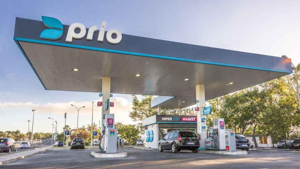Una gasolinera de PRIO.