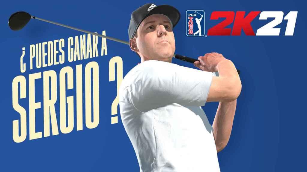 El español Sergio García, en PGA Tour 2K21