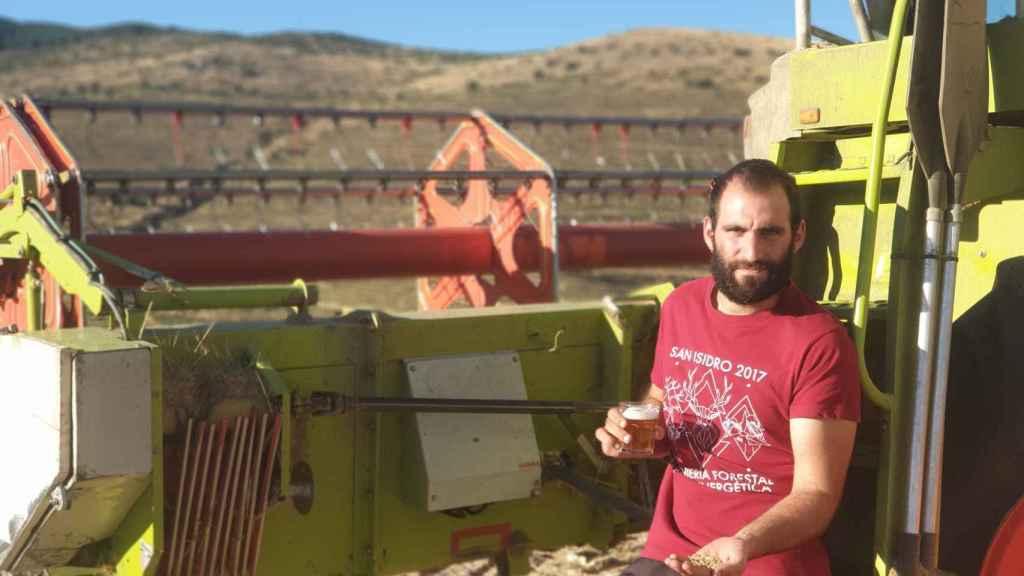 Alejandro Aguado, Ingeniero Agrícola y agricultor desde hace seis años