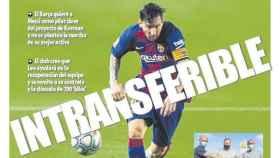La portada del diario Mundo Deportivo (22/08/2020)