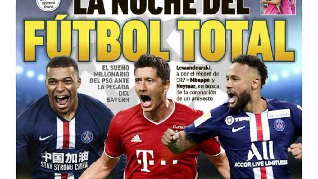 La portada del diario MARCA (23-08-2020)