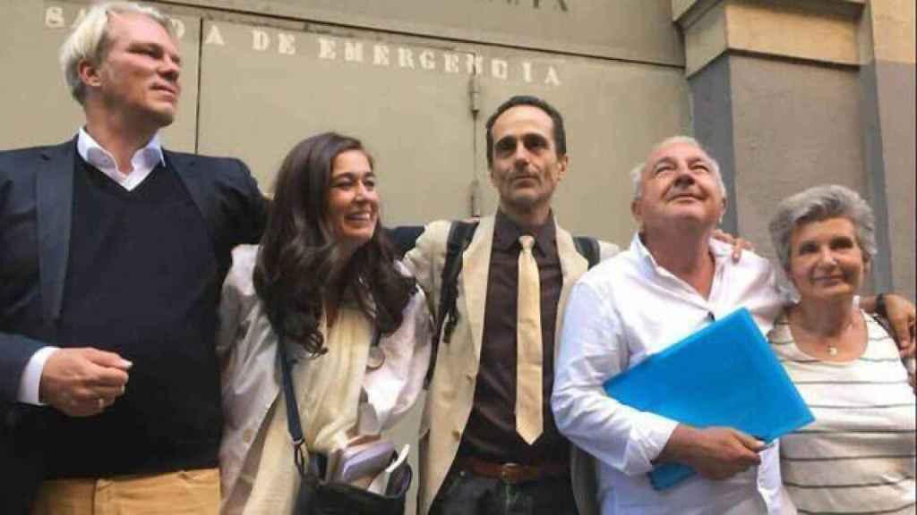 De izquierda a derecha, Heiko Schoenig, Natalia Prego, Ángel Ruiz Valdepeñas, Rafael Gazo y María José Martínez Albarracín